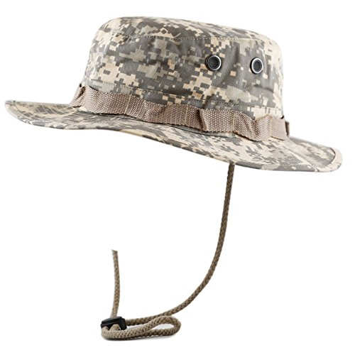 The Hat Depot 300N1516 Premium Quality Military Boonie Hat (L/XL, Desert Digital Camouflage)