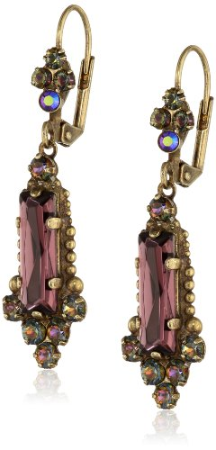 "Sorrelli  ""Volcano"" Crystal Bar Earrings"