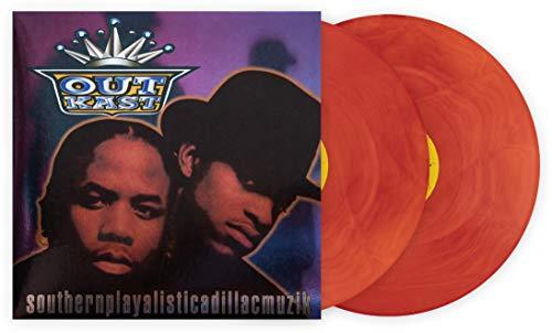 Outkast Southerplayalisticadillacmuzik Unabridged Limited Club Exclusive Edition Multi-Color Orange Galaxy 2XLP Vinyl