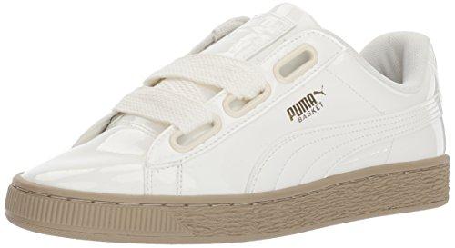Puma Kvinders Kurv Hjerte Patent Wn Sneaker Marshmallow-skumfidus qnEZffK