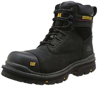 Cat Footwear Gravel 6 S3 - Zapatos de protección, unisex, Negro (Black), 41 EU