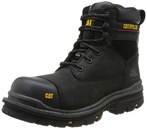 Cat Nero da Adulto Black Sicurezza Footwear Calzature di Unisex gnqxzr6gwA