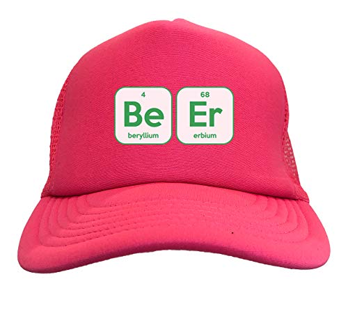 Beer Periodic Table - Elements Solid Trucker