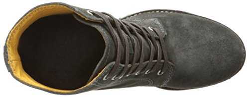 Frye Women's Sabrina 6g Lace up Suede Boot, Green Charcoal