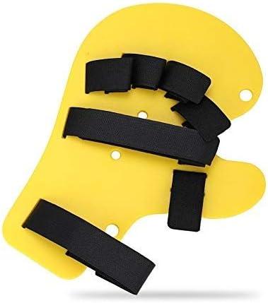 Finger Tablero extendido, férula para dedos Diapasón Separador de dedos Puntos ortopédicos Dispositivo de ortesis para entrenamiento de muñeca de mano para mujeres y hombres(2#)