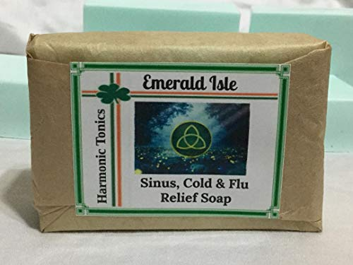 Sinus Cold &Flu Relief Soap Harmonic Tonics tackles tough ailments