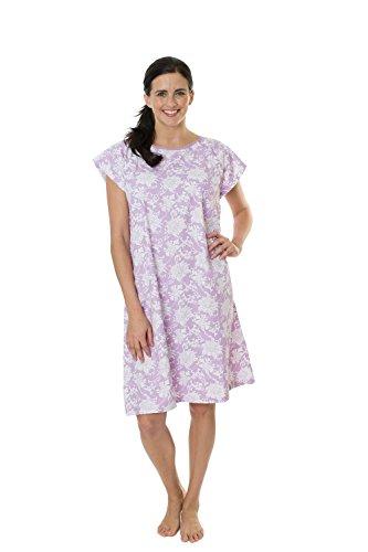 Gownies Hospital Patient Gown, Designer (L/XL Size 10-16, Helen)