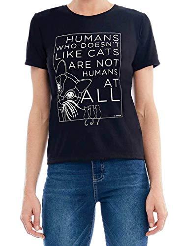 Camiseta Básica Estampa Cats Mofficer