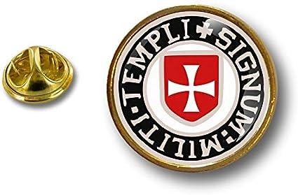 Akacha pin Flaggen Button pins anstecker Anstecknadel Templer tempelritter Kreuzritter