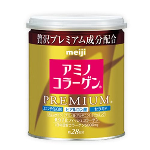 Meiji Amino Collagen Premium Powder (28 Days 200g, Can) From Japan by Meiji