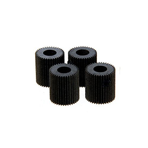 Wangdd22 3D Printer Accessories 4pcs/lot 38 Tooth Mold Steel Linear Extruder Filament Drive Gear for Planetary Gear Extruder