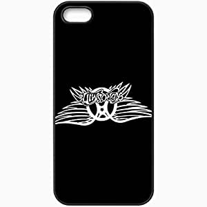 Personalized iPhone 5 5S Cell phone Case/Cover Skin Aerosmith Music Black