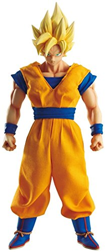 Megahouse Dimensions of Dragon Ball: Super Saiyan Son Goku Figure (1:8 Scale) (Goku Super Saiyan Costume)