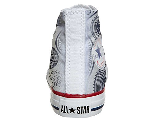 Converse All Star zapatos personalizados (Producto Artesano) Light Paisley