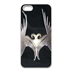 Custom Valkyrie Warrior Back Cover Case for iphone5,5S JN5S-572