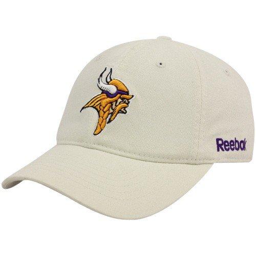 Large/X-Large Khaki Norseman Logo Minnesota Vikings Hat (Adult) FlexFit (Minnesota Vikings Khaki)
