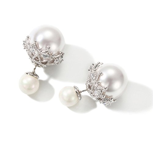 Double Sided Earrings Fashion Jewelry product image