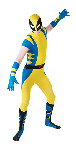 Marvel Rubie's Men's Universe Wolverine Adult 2Nd Skin Costume, Multi, Medium