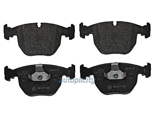 GENUINE BMW 34116761252 1995-2006 Bmw X5 530i 540i 740i 740il Front & Rear Brake Pads E38 ...