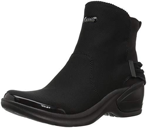 BZees Women's Mojo Mid Calf Boot, Black Portia Knit, 9 M US (Knit Womens Boots)