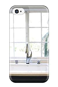 New Top Style Cassandra Byers Hard Case Cover For Iphone 4/4s- Glass Cabinet Doors In Transitional Kitchen
