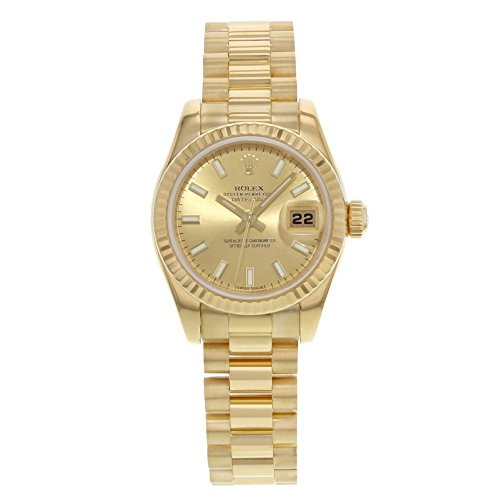 Rolex Datejust automatic-self-wind womens Watch 179178 (Certified Pre-owned)