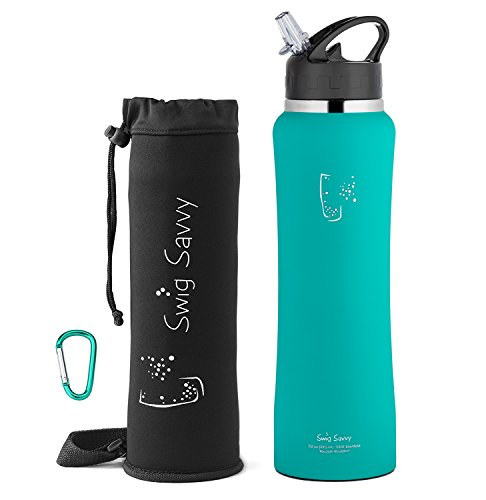 Swig Savvy's Stainless Steel Insulated Water Bottle