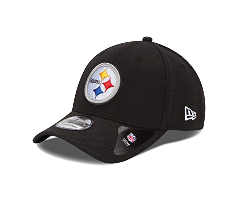 - NFL Pittsburgh Steelers Team Classic 39THIRTY Stretch Fit Cap, Small/Medium, Black