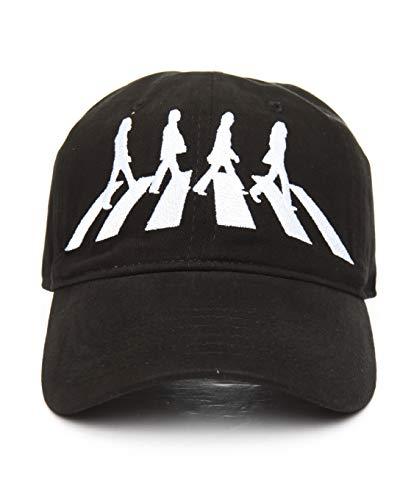 The Beatles Men's Abbey Road Baseball Cap, Black, One Size