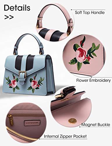 Clearance Fashion Blue on Handbags Shoulder LA'FESTIN Y8gwqvq