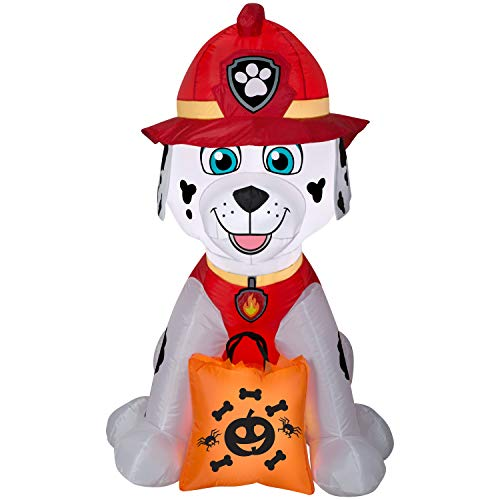 Lowes Halloween Inflatables (Gemmy Paw Patrol Halloween Inflatable - Marshall (4)