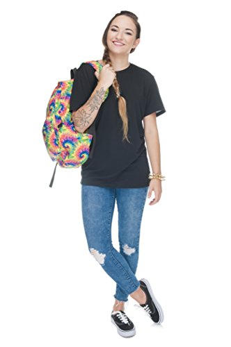 Tie Luggage Printed Gym Rucksack Dye Fully Travel School Women's Fringoo Backpack Cabin 0qX1SvZn