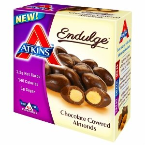 Atkins Endulge Chocolate Covered Almonds 5 ea pack of 3