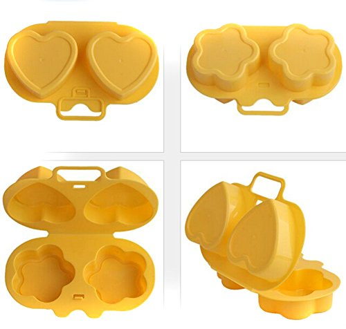 Microwave Oven Steamer Egg Poacher Cooking Gadget Cookware Home Kitchen Tools