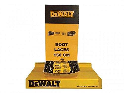DeWalt Polyester/Coton 150cm Lacets de coffre en distributeur (60paires)