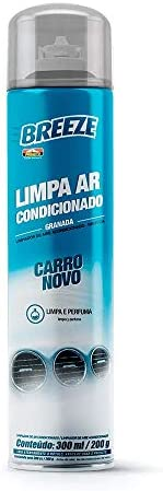 Limpa Ar Condicionado Breeze Carro Novo Proauto 300 Ml
