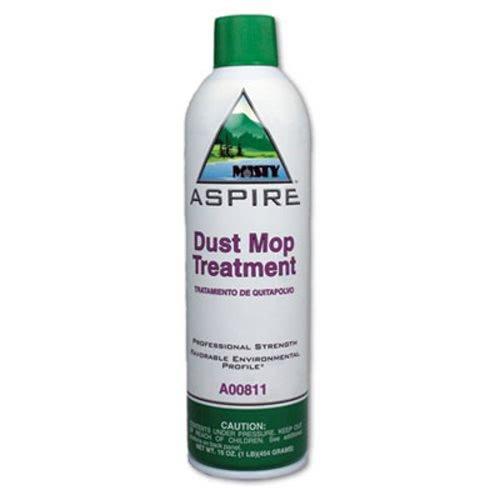 Misty Aspire Dust Mop Treatment, Lemon Scent, 20 oz. Aerosol Can - 12 20-ounce aerosol cans per case.