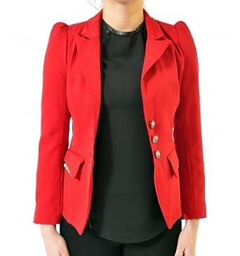 Amazon veste tailleur femme