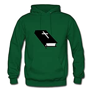 Theresawilkins Green Custom-made Lightweight Lovely Closed Bible 01 Sweatshirts/women X-large