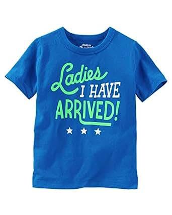 OshKosh B'gosh Blue Round Neck T-Shirt For Boys