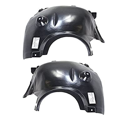 New Splash Shields For Ford Fusion Set Of 2 Front Driver /& Passenger Pair