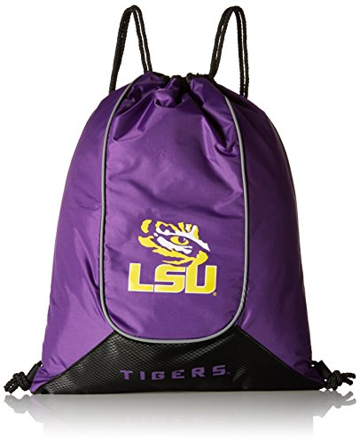 - NCAA LSU Tigers Doubleheader Backsack, 18-Inch, Purple