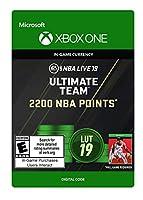 NBA LIVE 19: NBA UT 2200 Points Pack - Xbox One [Digital Code]