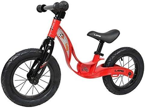 YSA 幼児用低フレーム付き調整可能バランスバイク2〜6歳の子供用エアフリータイヤ付きトレーニングバイク12インチキッズバイクペダルなしスポーツトレーニング自転車