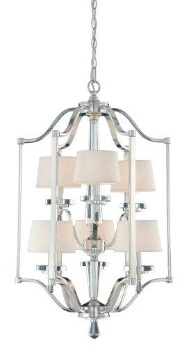 Eurofase 20294-014 Elora 6-Light Lantern, Chrome by Eurofase