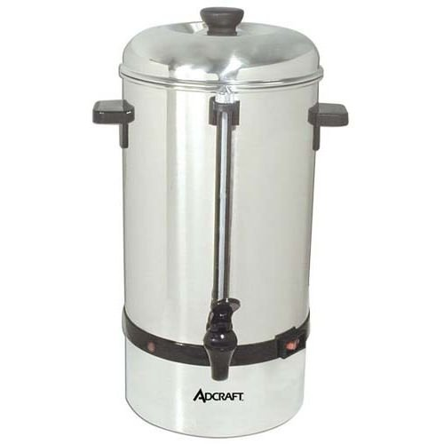 Adcraft CP-40 40-Cup Coffee Percolator, Stainless Steel, 120-Volt Admiral Craft