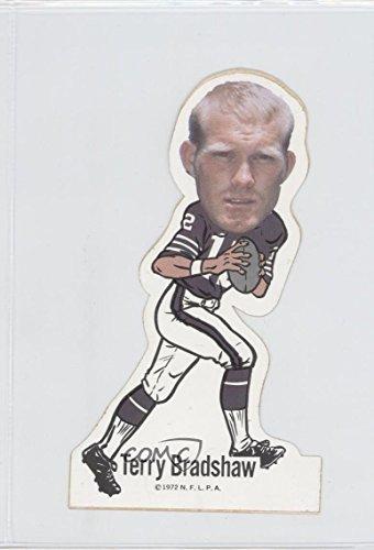 Terry Bradshaw (Football Card) 1972 NFLPA Vinyl Player Stickers - [Base] #TEBR