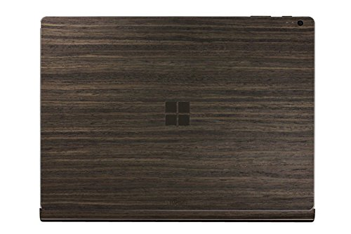 TOAST - Real Wood, Ebony Cover with Windows Logo Cutout for Microsoft Surface Book (standard base model) by Toast