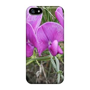 Cute Tpu STWanke Flor Lilas Case Cover For Iphone 5/5s