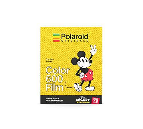 Polaroid Originals Limited Edition Color Film for 600 - Mickey's 90th Anniversary Edition (4860) (Polaroid Camera Film Disney)